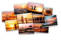 Magnetische Premium Fototasche Kühlschrank Fotorahmen Fotohülle 10x15cm 10er Set