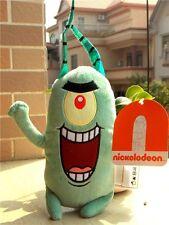 """New SpongeBob Squarepants Sheldon J. Plankton 8"""" Sponge Bob Plush Toy Gift"""