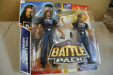 WWE Battle Pack Series Wave 36 The Outsiders NWO Hall & SIGNED BY Kevin Nash