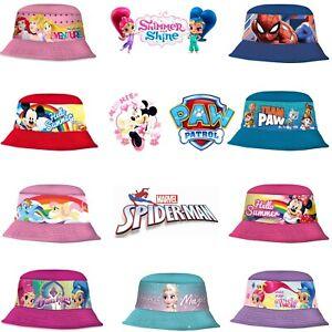 Unisex Kids Official Bucket Bush Hat, Fisherman Sun Protection Hats 3+Y