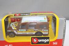 Burago 4171 Land Rover Raid  Alitalia  1:43 Boxed