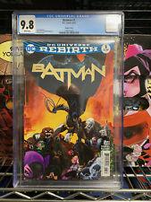 Batman #1 CGC 9.8 - Tim Sale variant cover - Tom King DAVID FINCH 2016 Rebirth