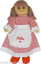 VINTAGE personalizzato Red Riding Hood Bambola di pezza 40 cm giocattolo bambino ragazze regalo di Natale