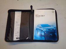 2007 Mazda CX7 Owners Manual Pack