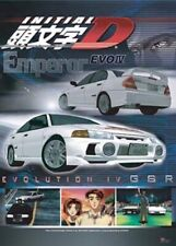Initial D Poster Emperor Evo Iv Anime Licensed Mint