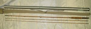 """Partridge """"Bronze Shadow"""" #5 Bamboo Fly Rod 2pc 7-1/2' W/ex tip"""