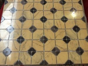 Mosaic Floor Tiles 40x40cm Only 4 Pieces Left For £40