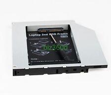 PATA/IDE to SATA 2nd Hard Drive HDD Caddy for DELL PRECISION M6300 DV-28E dvd