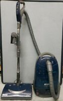 Used Kenmore Progressive 360 HEPA 116 Blue Canister Vacuum With Attachments