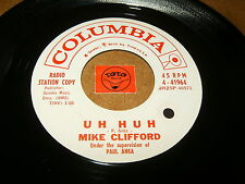 MIKE CLIFFORD - UH HUH - LOOK IN ANY WINDOW   / LISTEN -  JAZZ ROCK  POPCORN
