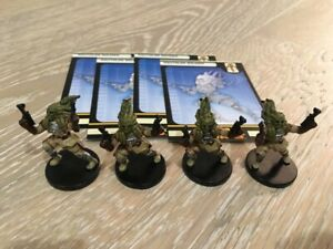 4x Star Wars Nautolan Soldier 49/60, Fringe 8 by Wizards of the Coast