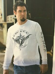 BIG DOG MOTORCYCLES 2XL ALTERNATIVE TATTOO THERMAL LONG SLEEVE FRONTSLEEVE
