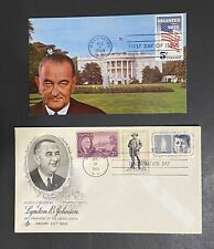 US President Lyndon Johnson LBJ Election Inauguration FDR JFK Sam Houston Texas