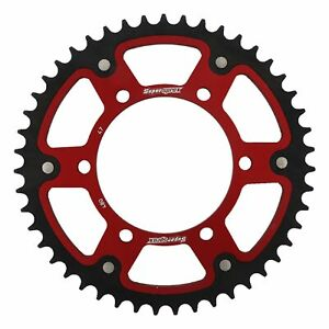 New - Red Stealth sprocket 47T Chain Size 525