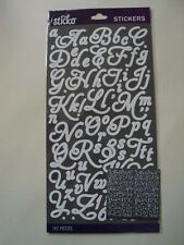 E K SUCCESS STICKO WHITE APHRODITE ALPHABET STICKERS BNIP *LOOK*