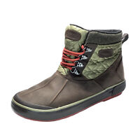 KEEN Elsa ll Women Sz 9.5 Quilted WP Insulated Ankle Boots Winter Grain Leather