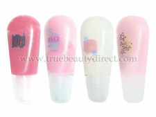 DISNEY HIGH SCHOOL MUSICAL 4 x LIPGLOSS TUBES IN MAKE UP CASE PINK LILAC WHITE