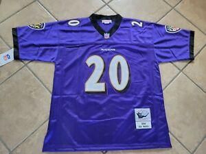#20 Ed Reed Baltimore Ravens Throwback Jersey Size Medium NWT