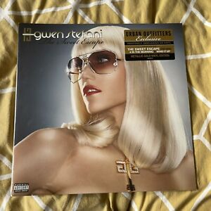 Gwen Stefani - The Sweet Escape - Metallic Gold Vinyl LP *NEW/SEALED* UO