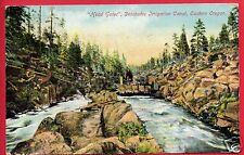 HEAD GATES DESCHUTES IRRIGATION CANAL OREGON 1909 DEFIANCE OHIO   POSTCARD