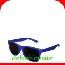 Lunettes de soleil bleu noir plastique pour femme