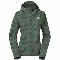 The North Face Womens Novelty Venture Jacket Laurel Wreath Green Camo Size Large