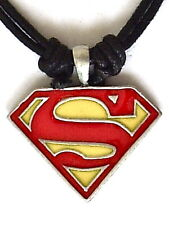 RED YELLOW SUPERMAN PENDANT MENS BOYS WOMENS GIRLS NECKLACE  P0472
