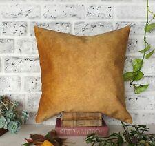 Saffron color thick velvet-baby face super soft fabric pillow cover-seat cushion