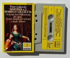 Musicassetta Ciaikovski Sinfonia n 2 Romeo e Giulietta Musik Cassette Tape No CD
