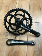 Campagnolo VELOCE Chainset (50+34t) COMPACT 10s Road Crankset 172.5mm (Black)