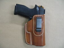 Sig Sauer P 220, 226  IWB Leather In The Waistband Concealed Carry Holster TAN
