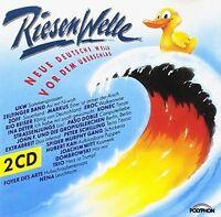 RiesenWelle Rio Reiser, Nina Hagen Band, Andreas Dorauund Die Marinas, .. [2 CD]