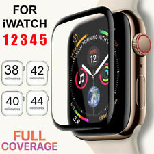 Pantalla protectora de vidrio templado para Apple Watch 38/40/42/44 mm Serie 5 4