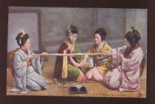 Japan Japanese Game Tuck Oilette #6463 PPC