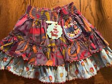 NWT Matilda Jane Count on Me Girls Heart Soul Pride Character Counts Skirt Sz 6