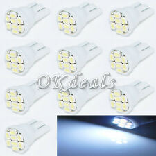 20*T10 W5W 194 168 501 Car White 8 LED 3020 SMD Wedge Side Light Bulb Lamp NE