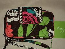 Vera Bradley Lola Smartphone Wristlet Cotton Multi-Color Zip  Around$45
