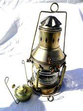 Nautical Metal Full Circle Lantern ~ Ship Oil Lamp ~ Maritime ~ Boat Light