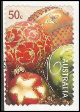 Australia 2008-navidad-bolas de Navidad-con sello-im. nº 3117