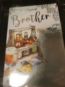 FOR A SPECIAL BROTHER ON YOUR BIRTHDAY - BROTHER BIRTHDAY CARD