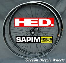 HED Belgium+ Plus 700c 20H/24H Sapim D-Light wheelset Bitex 11 speed Ardennes+