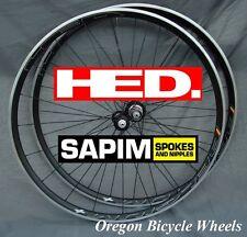 HED Belgium+ Plus 700c 20H/24H (Ardennes+) wheelset Sapim CX Ray Bitex 11 speed