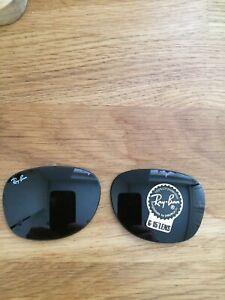 Ray Ban Wayfarer 2132 52-18 G-15 Lenses Brand New Glass Lenses