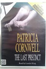 The Last Precinct by Patricia Cornwell: Unabridged Cassette Audiobook (V3)