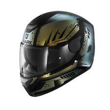 NEU SHARK Helm D-Skwal Dharkov Flip Flop GOLD M 57/58 Motorradhelm Sonnenblende