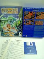 Populous II Big Box Game for Commodore Amiga, Very Nice