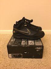 Nike Air Max Lebron 7 VII Black/Gold Promo Sample PE Size 13 Opening Night