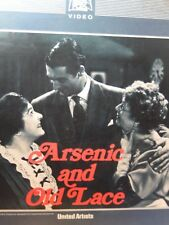 Arsenic and Old Lace CED Video Disc Gary Grant 1944