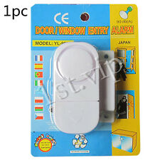 1 X Burglar Intruder Alarms Door Window Entry Wireless Sensor UK