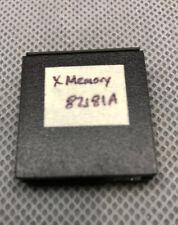 HP X Memory Module HP 82181A for HP-41C/CV/CX Calculators